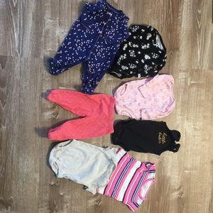 Bundle of 3 month clothing